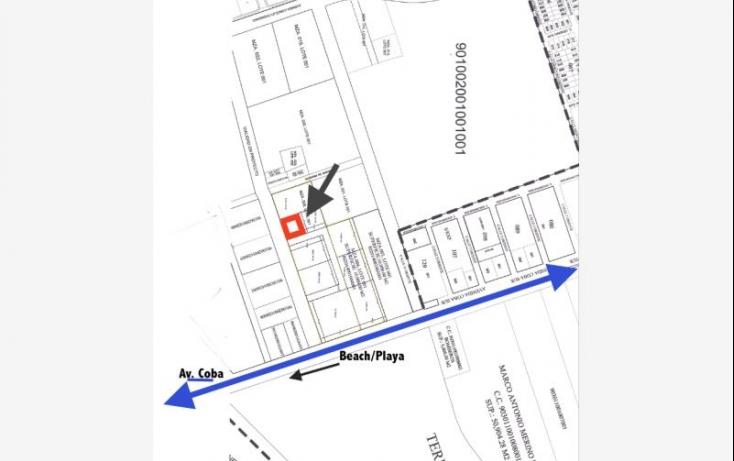 Foto de terreno habitacional en venta en a pasos de av coba, villas tulum, tulum, quintana roo, 521157 no 03