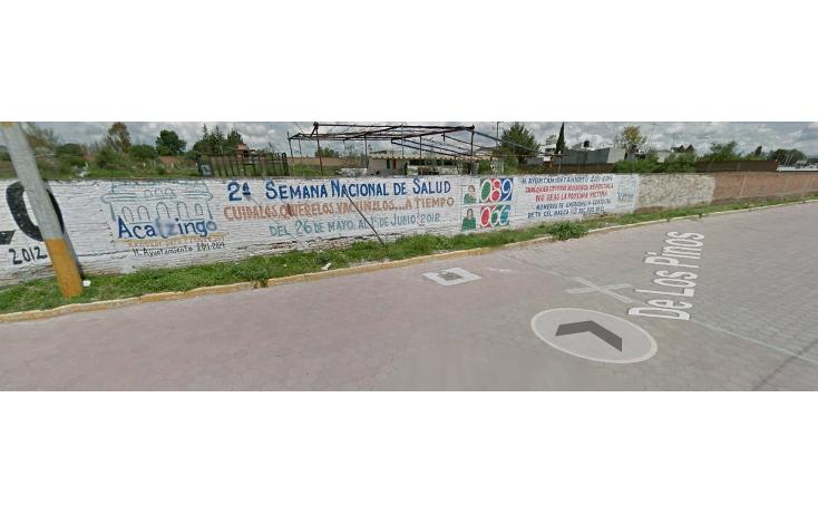 Foto de terreno habitacional en venta en  , acaxochitl?n centro, acaxochitl?n, hidalgo, 1926785 No. 01