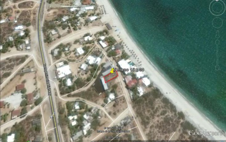 Foto de terreno habitacional en venta en acceso a la playa frente a condominios playa blanca, buenavista, la paz, baja california sur, 1456495 no 07