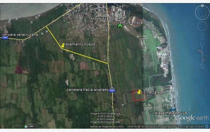 Foto de terreno habitacional en venta en acceso playa mata de uva 000, anton lizardo, alvarado, veracruz de ignacio de la llave, 1607054 No. 01