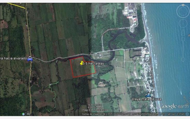 Foto de terreno habitacional en venta en acceso playa mata de uva 000, anton lizardo, alvarado, veracruz de ignacio de la llave, 1607054 No. 02