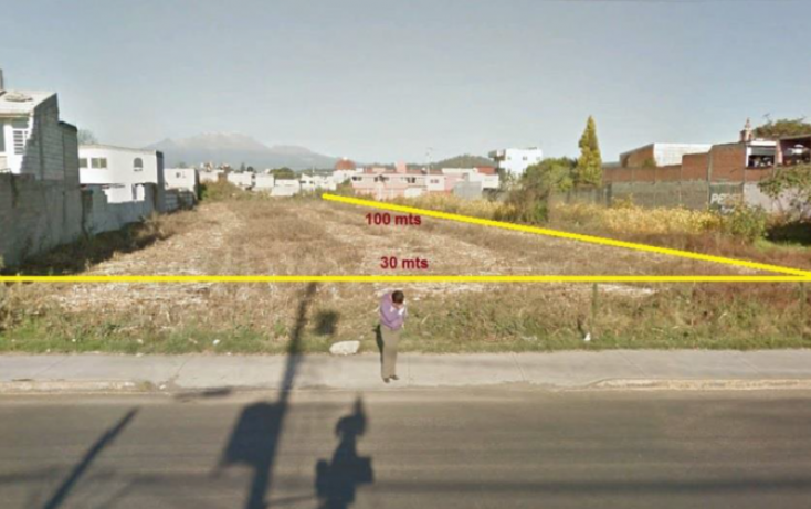 Foto de terreno habitacional en venta en, actipac, san andrés cholula, puebla, 1998762 no 04