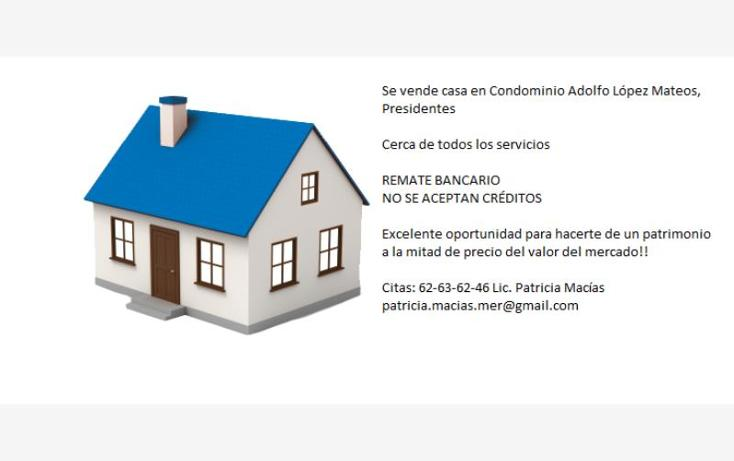 Foto de casa en venta en adolfo lópez mateos nn, presidentes, álvaro obregón, distrito federal, 2676354 No. 02