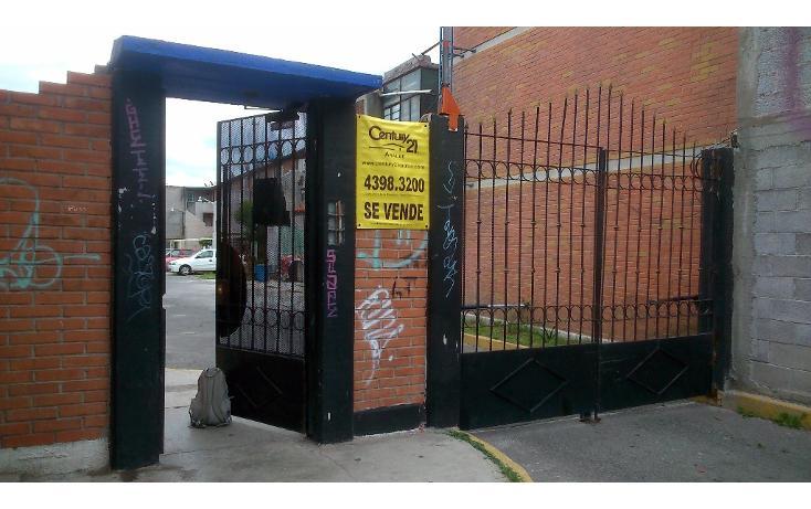 Foto de departamento en venta en  , adolfo ruiz cortines, ecatepec de morelos, méxico, 1710744 No. 01