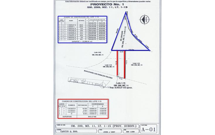 Foto de terreno comercial en venta en  , aeropuerto, othón p. blanco, quintana roo, 1057527 No. 02