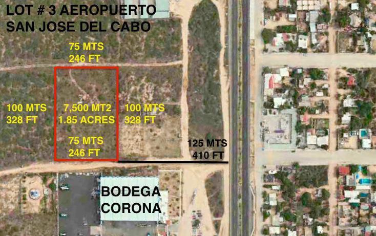 Foto de terreno habitacional en venta en  , santa anita, los cabos, baja california sur, 1769334 No. 01