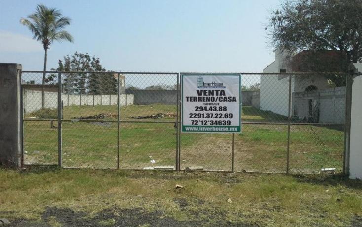 Foto de terreno habitacional en venta en  , aeropuerto, veracruz, veracruz de ignacio de la llave, 609284 No. 01
