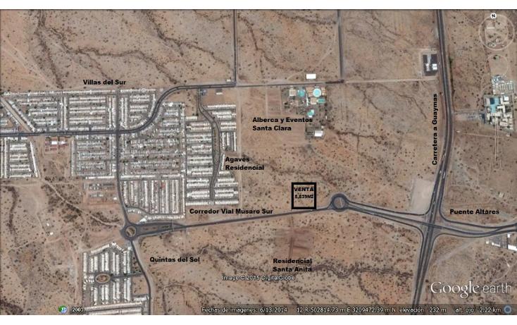 Foto de terreno comercial en venta en  , agaves residencial, hermosillo, sonora, 1085785 No. 01