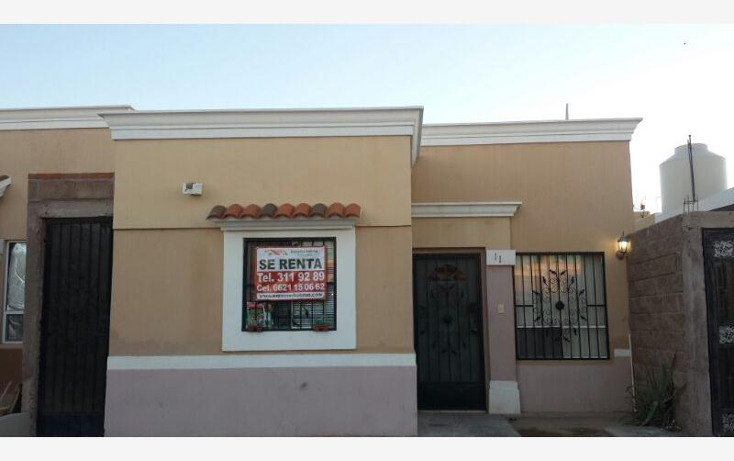 Foto de casa en renta en  , agaves residencial, hermosillo, sonora, 377160 No. 01