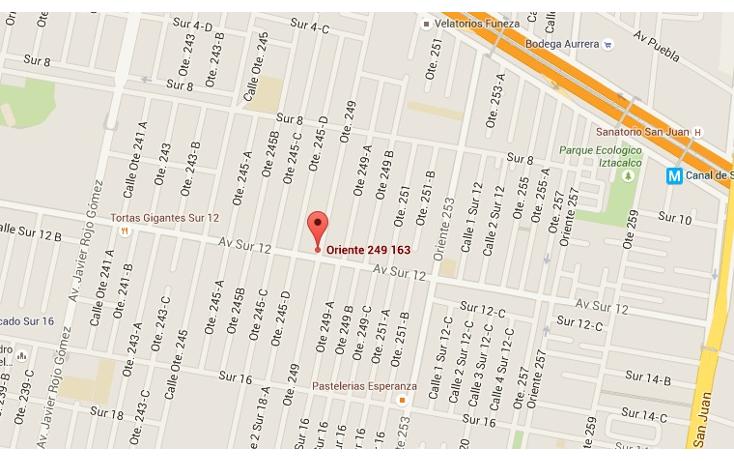 Foto de casa en venta en  , agr?cola oriental, iztacalco, distrito federal, 1308053 No. 03
