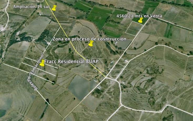 Foto de terreno habitacional en venta en  , agrícola resurgimiento, puebla, puebla, 563522 No. 09