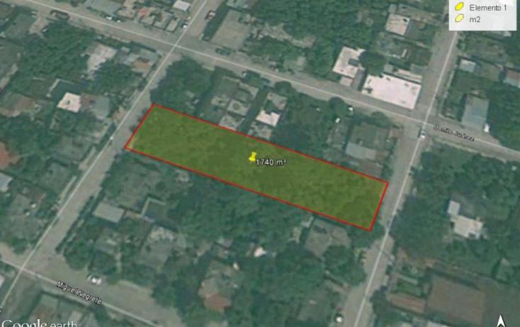Foto de terreno habitacional en venta en agustin de iturbide, santiago de la peña, tuxpan, veracruz, 835807 no 02
