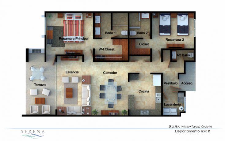 Foto de departamento en venta en, agustín olachea, la paz, baja california sur, 1134999 no 04