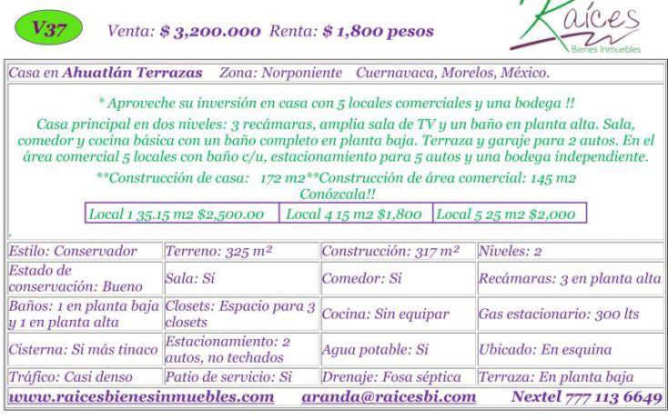 Foto de casa en venta en , ahuatlán tzompantle, cuernavaca, morelos, 720707 no 02
