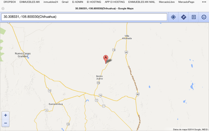 Foto de rancho en venta en  , ahumada, ahumada, chihuahua, 1448785 No. 02