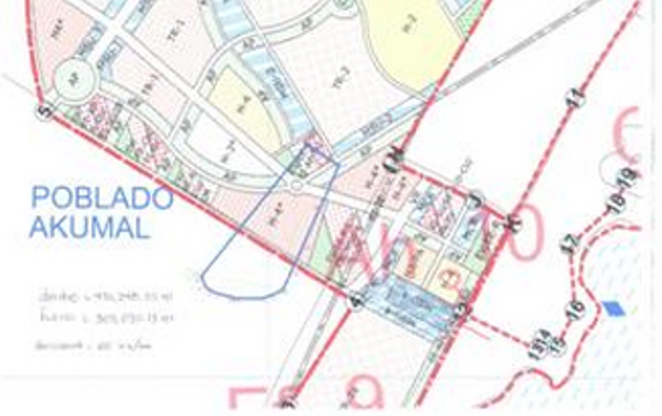 Foto de terreno habitacional en venta en, akumal, tulum, quintana roo, 1186149 no 01