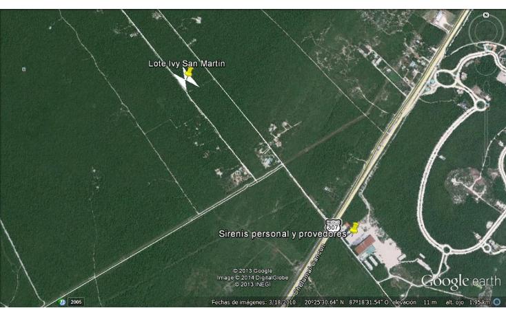 Foto de terreno habitacional en venta en  , akumal, tulum, quintana roo, 1255615 No. 02