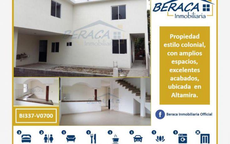 Foto de casa en venta en, alameda, altamira, tamaulipas, 1736414 no 01