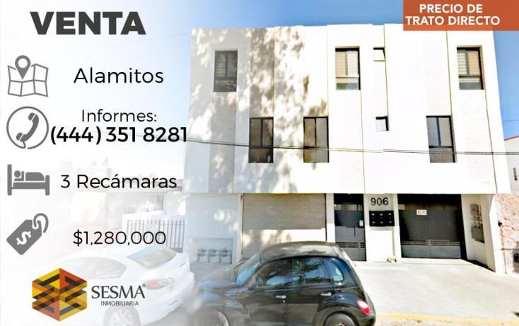 Foto de departamento en venta en  , alamitos, san luis potosí, san luis potosí, 1759770 No. 01