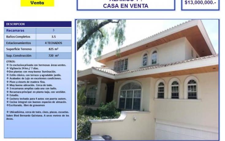 Foto de casa en venta en alamos 1a fracc privado, álamos 1a sección, querétaro, querétaro, 754187 no 01