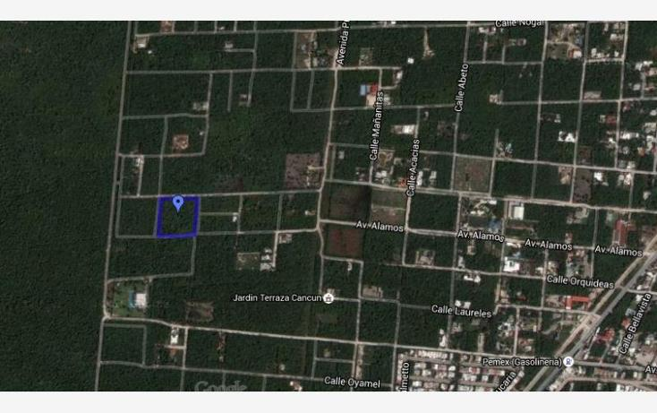Foto de terreno habitacional en venta en alamos 2, supermanzana 8, benito juárez, quintana roo, 963605 No. 01