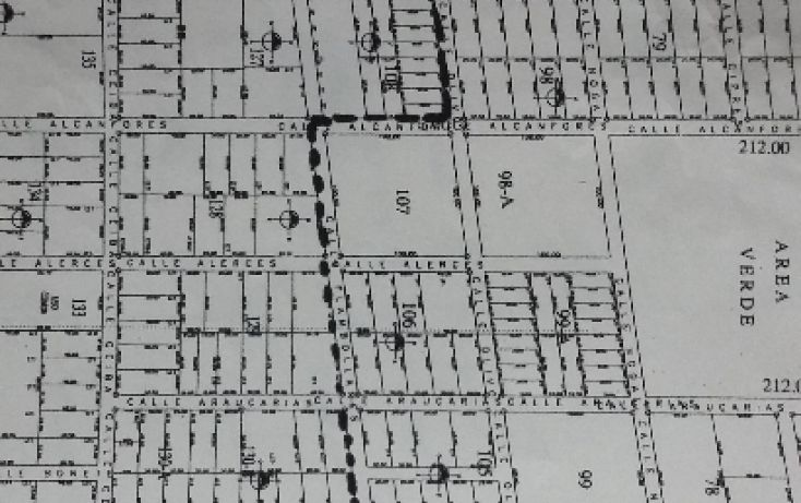 Foto de terreno habitacional en venta en, álamos i, benito juárez, quintana roo, 1636454 no 02
