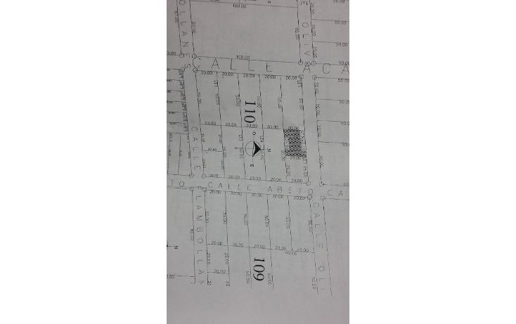 Foto de terreno habitacional en venta en  , ?lamos i, benito ju?rez, quintana roo, 1636454 No. 03