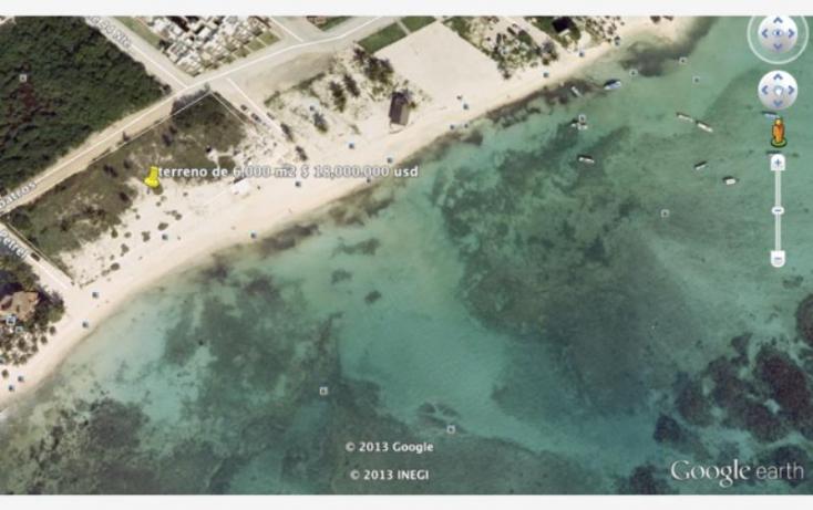 Foto de terreno habitacional en venta en albatros, zazil ha, solidaridad, quintana roo, 371563 no 03
