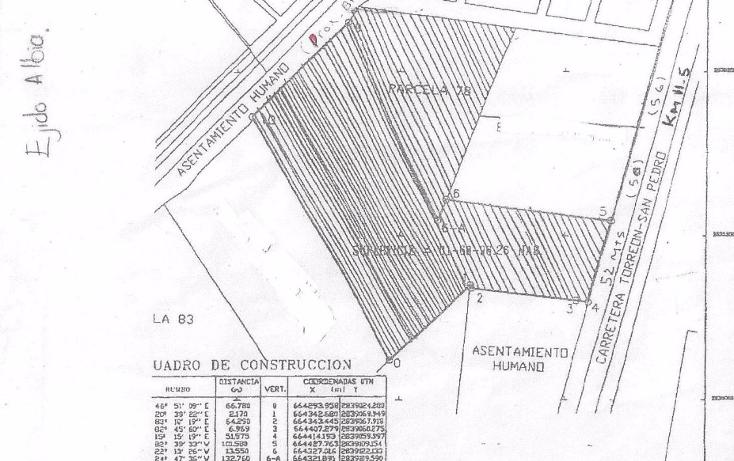 Foto de terreno habitacional en venta en  , albia, torre?n, coahuila de zaragoza, 1288537 No. 04