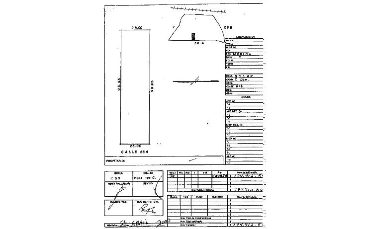 Foto de terreno habitacional en venta en  , alcal? mart?n, m?rida, yucat?n, 945913 No. 02