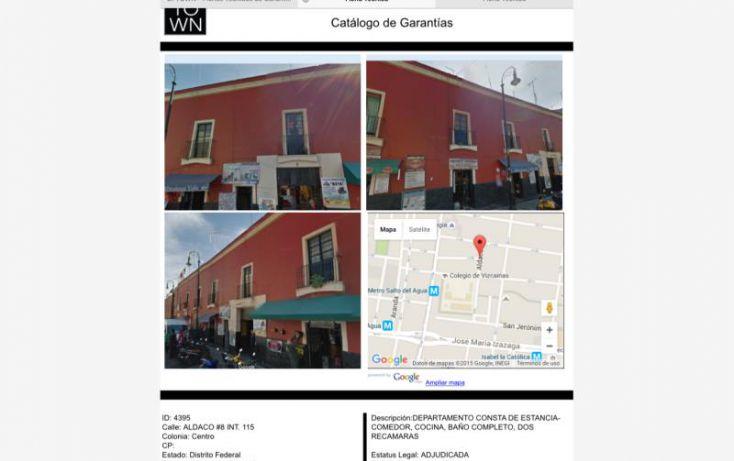 Foto de departamento en venta en aldaco 115, centro área 1, cuauhtémoc, df, 1450335 no 01