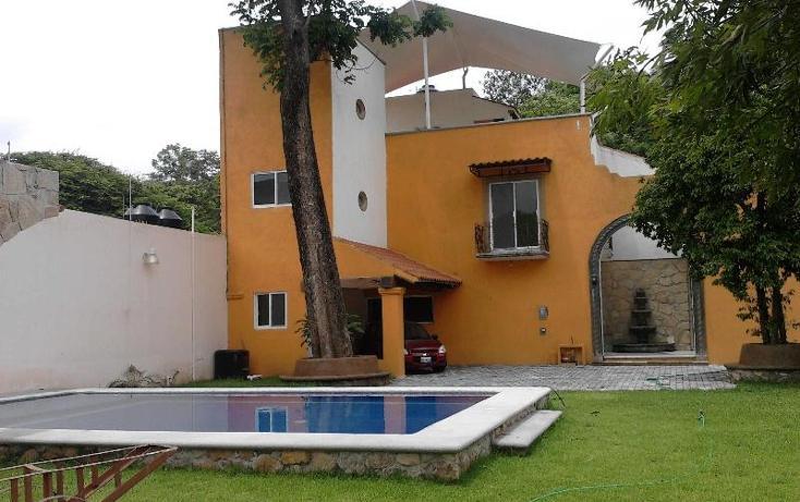 Foto de casa en venta en aldama 13, los presidentes, temixco, morelos, 387222 No. 01