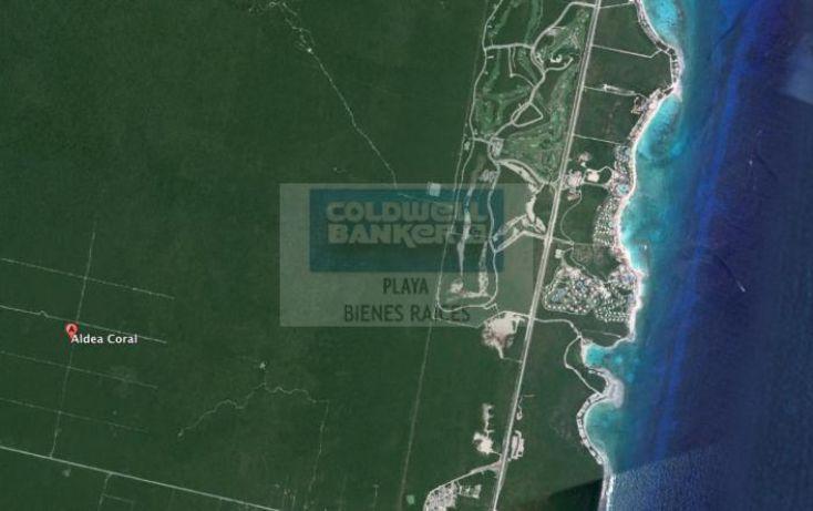Foto de terreno habitacional en venta en aldea coral, playa del carmen, solidaridad, quintana roo, 1029013 no 06