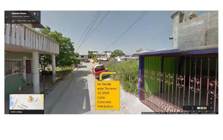 Foto de terreno habitacional en venta en alejandro green 120, las torres, centro, tabasco, 1033167 no 01