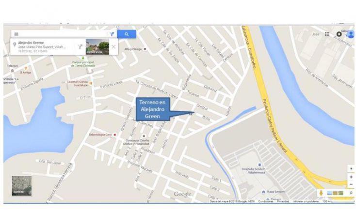 Foto de terreno habitacional en venta en alejandro green 120, las torres, centro, tabasco, 1033167 no 02