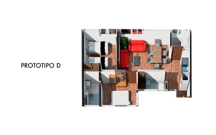 Foto de departamento en venta en  , alfonso xiii, álvaro obregón, distrito federal, 1541998 No. 02