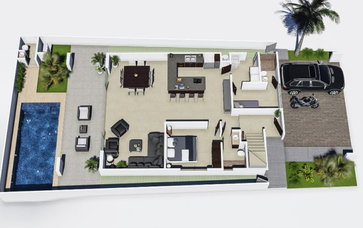 Foto de casa en venta en, alfredo v bonfil, benito juárez, quintana roo, 1284671 no 03