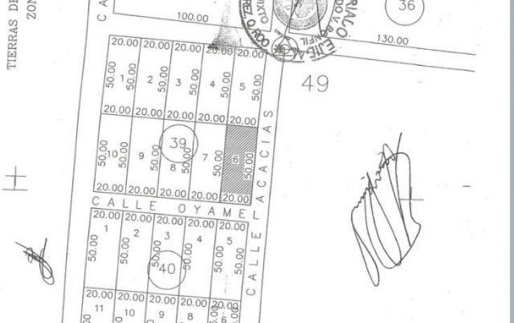 Foto de terreno habitacional en venta en, alfredo v bonfil, benito juárez, quintana roo, 1631648 no 02