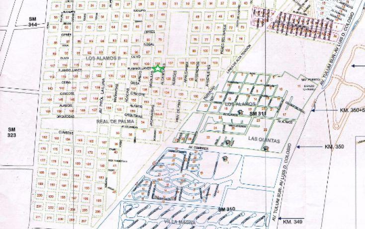 Foto de terreno habitacional en venta en, alfredo v bonfil, benito juárez, quintana roo, 1677952 no 02