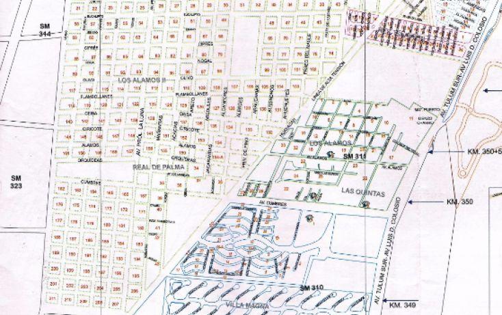 Foto de terreno comercial en venta en, alfredo v bonfil, benito juárez, quintana roo, 1682298 no 02