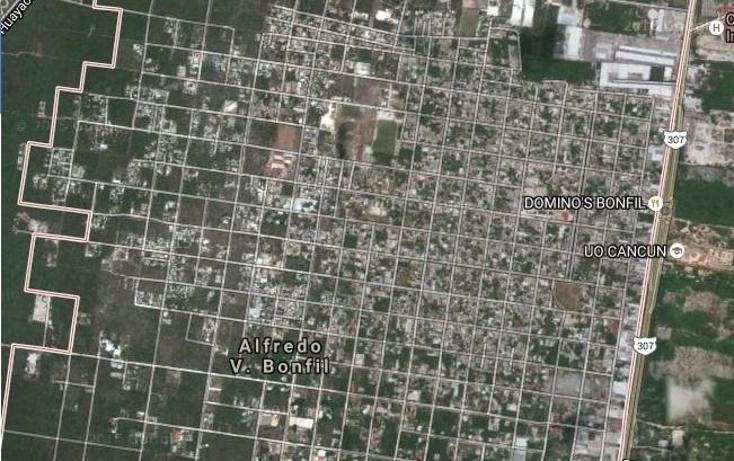 Foto de terreno habitacional en venta en  , alfredo v bonfil, benito juárez, quintana roo, 2038310 No. 02