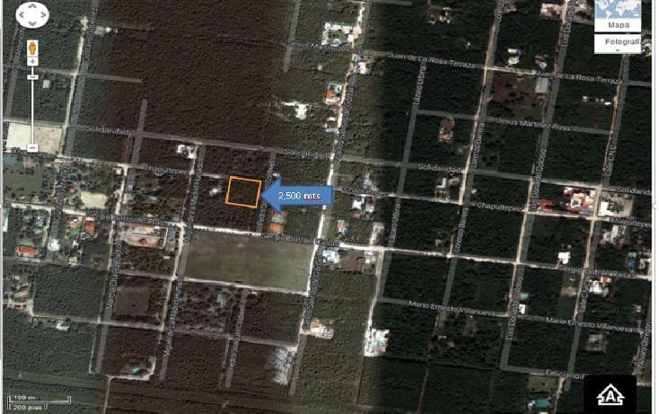 Foto de terreno habitacional en venta en  , alfredo v bonfil, benito juárez, quintana roo, 2627517 No. 01