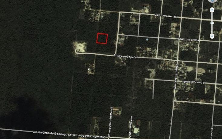 Foto de terreno habitacional en venta en  , alfredo v bonfil, benito juárez, quintana roo, 942445 No. 02
