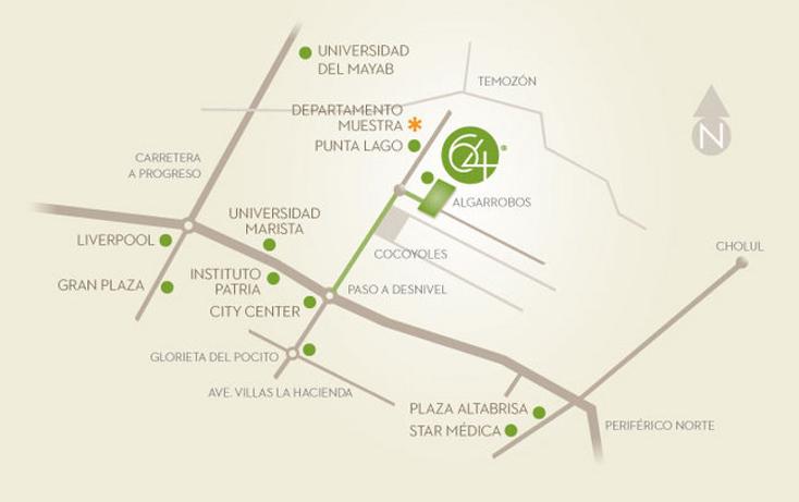 Foto de departamento en venta en  , algarrobos desarrollo residencial, mérida, yucatán, 1075507 No. 11