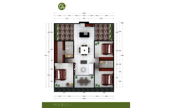 Foto de departamento en venta en  , algarrobos desarrollo residencial, m?rida, yucat?n, 1098279 No. 06