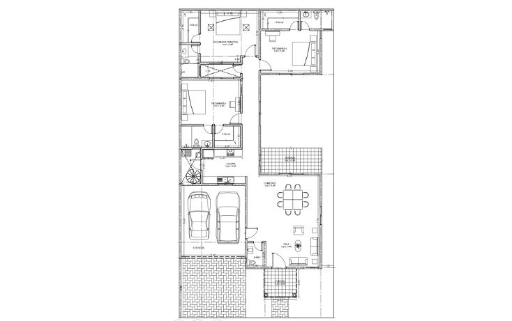 Foto de casa en venta en  , algarrobos desarrollo residencial, mérida, yucatán, 1134033 No. 02