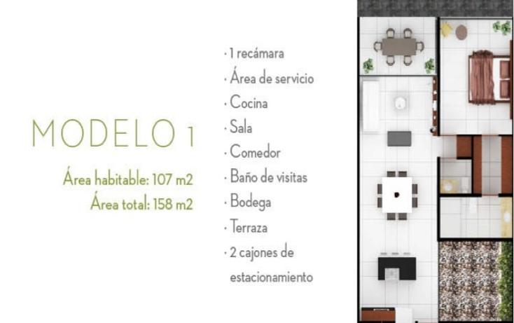Foto de departamento en venta en  , algarrobos desarrollo residencial, mérida, yucatán, 1193579 No. 08