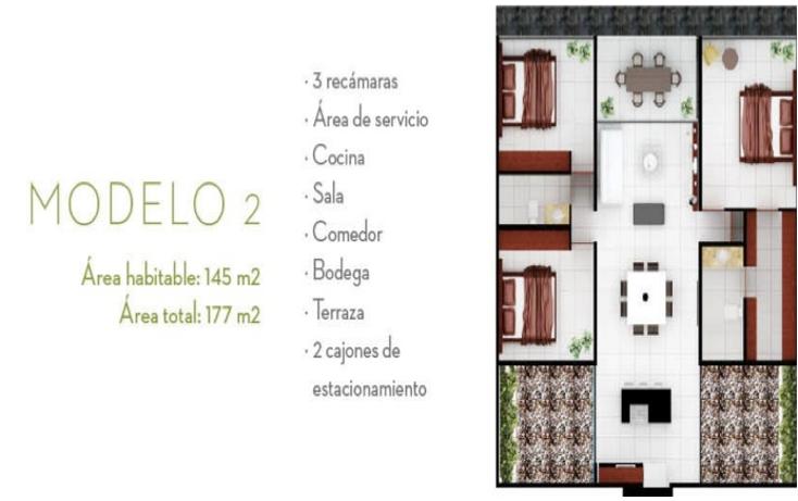 Foto de departamento en venta en  , algarrobos desarrollo residencial, mérida, yucatán, 1193579 No. 09
