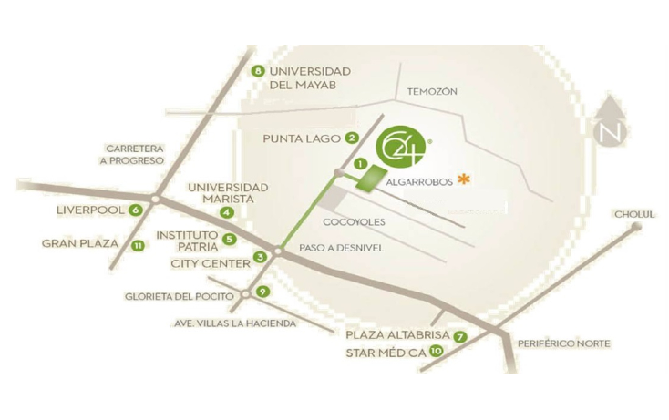 Foto de departamento en venta en  , algarrobos desarrollo residencial, m?rida, yucat?n, 1200469 No. 02