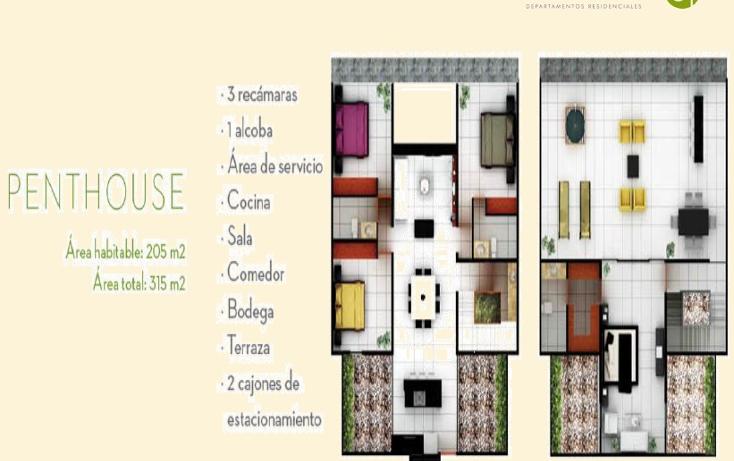 Foto de departamento en venta en  , algarrobos desarrollo residencial, m?rida, yucat?n, 1200469 No. 04